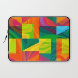 Funky geometric pattern Laptop Sleeve