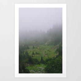 Valley of Heaven Art Print