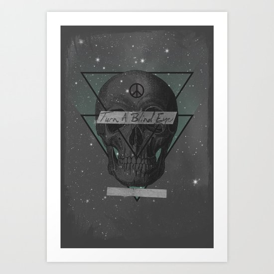 Blind Eye Art Print