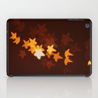 starry night iPad Cases featuring Starry Starry Night by happeemonkee