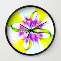 rio Wall Clocks featuring Rio by Brian Raggatt