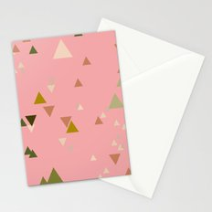 triangles Stationery Cards