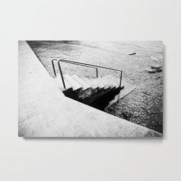 Mediterranean Sea, Photo, Film, Black and White, Analog Metal Print