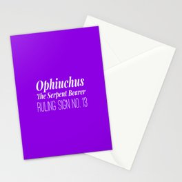 Ophiuchus the Serpent Bearer Stationery Cards