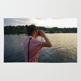 Sea Lady, See!—photo of wonderment Rug