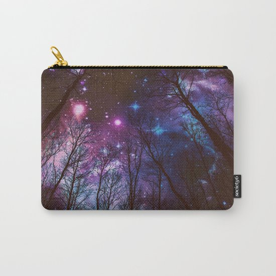 Black Trees Dark Space. Carry-All Pouch