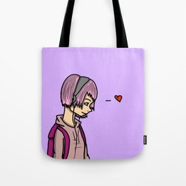 Listening in Love | Veronica Nagorny  Tote Bag