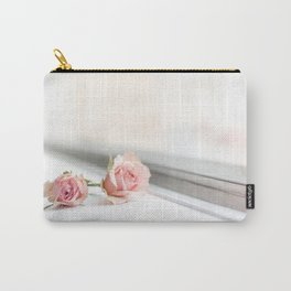 Baby pink roses Carry-All Pouch