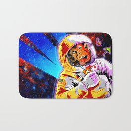 SPACE CHIMP Bath Mat