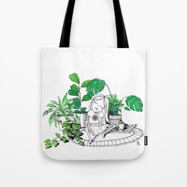 Plant Baby Tote Bag