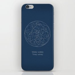 Doctor Who: Wibbly Wobbly iPhone Skin
