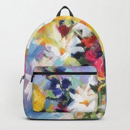 Summer Sunflower Bouquet Backpack