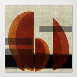 """""""Abstract Ships at Sunset"""" Canvas Print"""