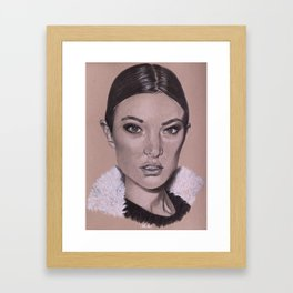 Miss J Framed Art Print