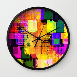 Colorful-67 Wall Clock
