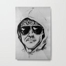 Unabomber Ted Kaczynski Police Sketch 1 Metal Print