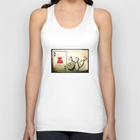 baseball Tank Tops featuring Baseball by Funniestplace