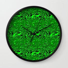 Green areas ... Wall Clock