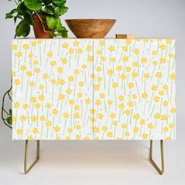 Buttercup Field M+M Evergreen by Friztin Credenza
