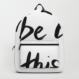 This Must Be Love (White) Backpack