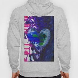 Eternal Heart No. 13A by Kathy Morton Stanion Hoody