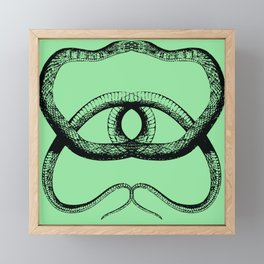 Danger Noodle Framed Mini Art Print