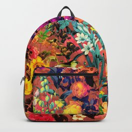 Floral and Birds II Backpack