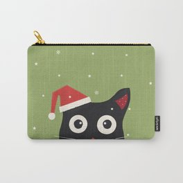 Christmas Cat Carry-All Pouch
