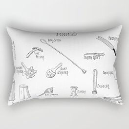 Bar Tools Rectangular Pillow