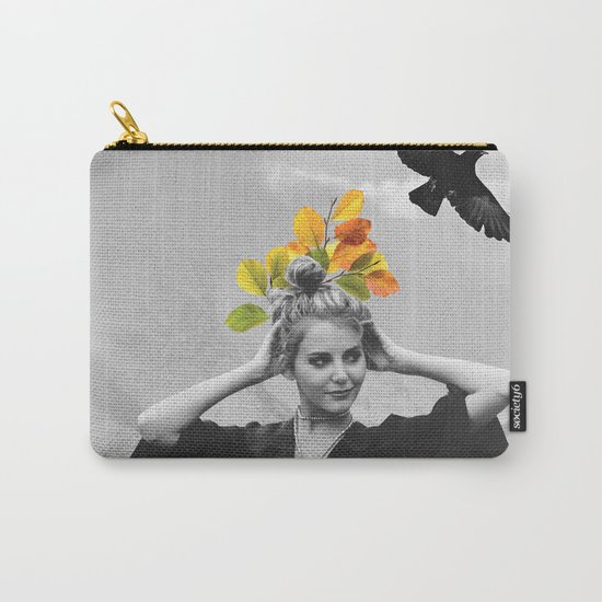 CROW GIRL Carry-All Pouch