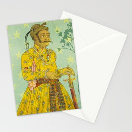 Mirrored Mughals Stationery Cards