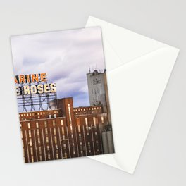 Montreal Farine Five Roses, Montreal Iconic, Urban photo, Architecture, modern Stationery Cards