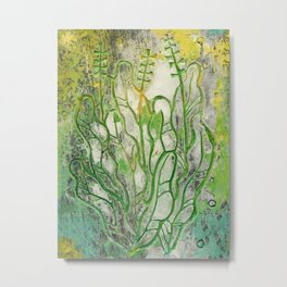 Summer Herbs Metal Print