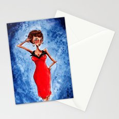 Pinup Lt. Uhura Stationery Cards