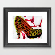 Chic Heel Framed Art Print