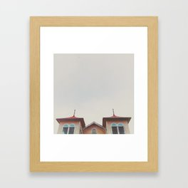 Topsy Turny  Framed Art Print