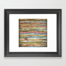 Three Junks Framed Art Print