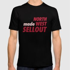 North West Sellout Mens Fitted Tee Black MEDIUM