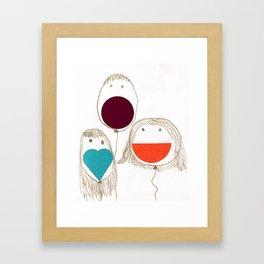 Kids. Framed Art Print