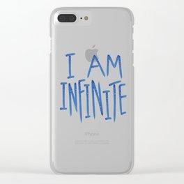 I Am Infinite Clear iPhone Case