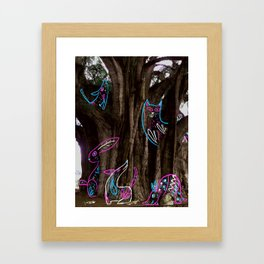 Tule Framed Art Print
