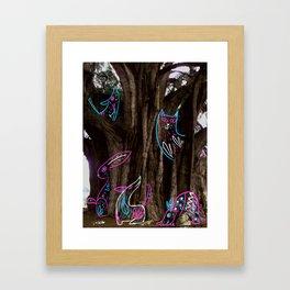 Tule Framed Art Print