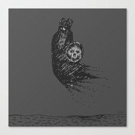 Floating Viking Canvas Print
