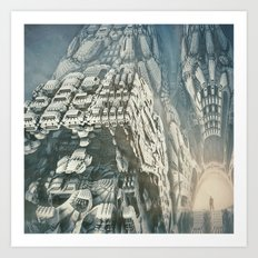 Remembering Art Print