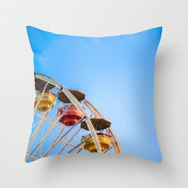 Pacific Park Throw Pillow