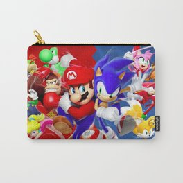 Mario vs Sonic Carry-All Pouch