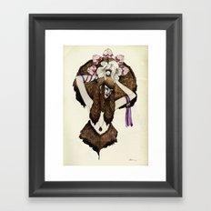 C A P R I C O R N - colour edition Framed Art Print
