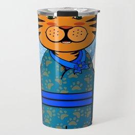 Winter Year of the Tiger Travel Mug