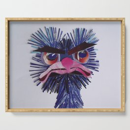 Angry Ostrich Serving Tray