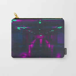 Vaporwave Neon Garage Carry-All Pouch